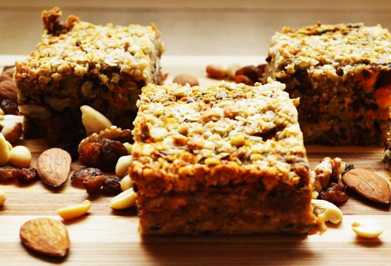 carrot cake baked oats2