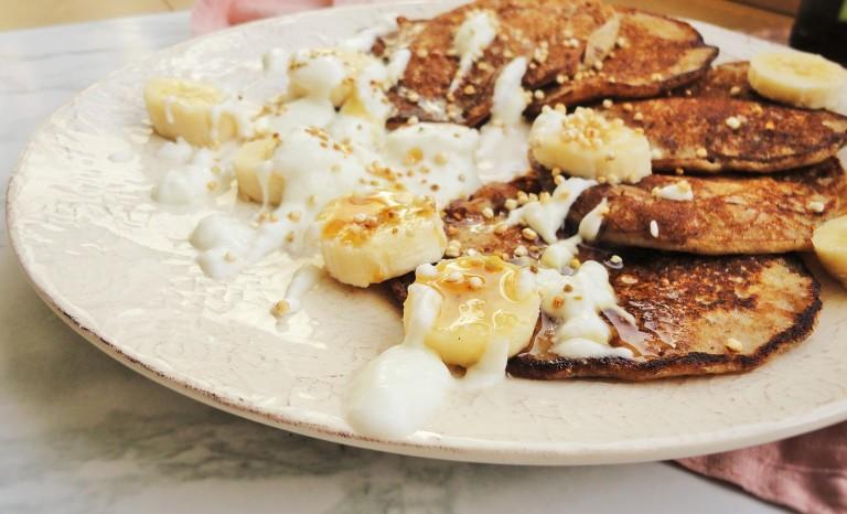 banana pancakes easy to make